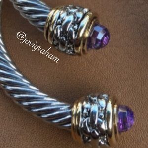 Jewelry - 🌸HP🌸Cable Cuffs (Purple ONLY)
